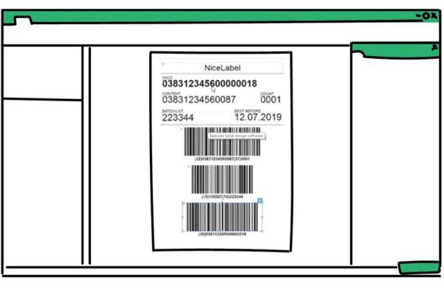Software di progettazione codici a barre