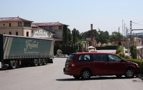 Freixenet ja meidän vuokra-auto