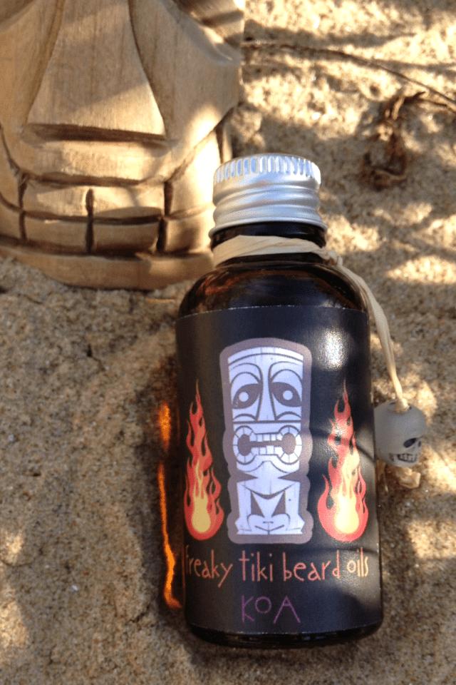 Freaky Tiki Koa Beard Oil