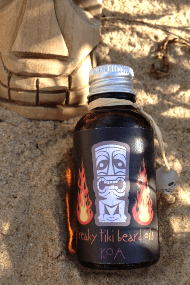 Freaky Tiki Beard Oils 'Koa' Beard Oil