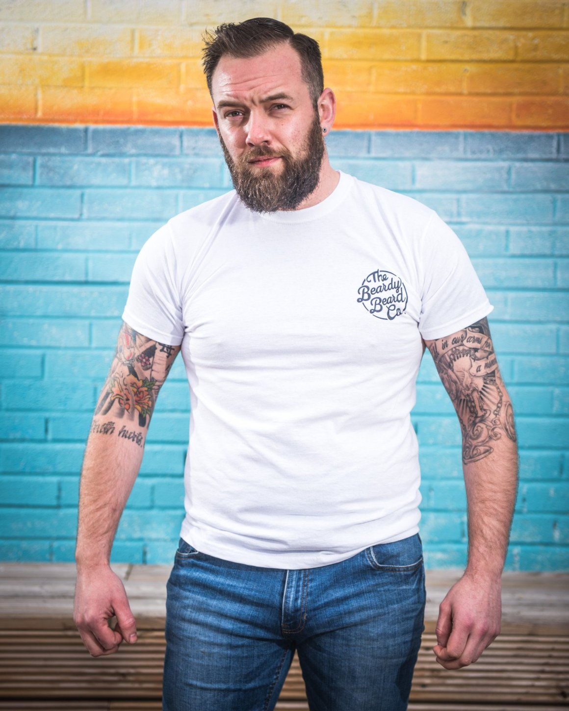 The beardy Beard Co Tee