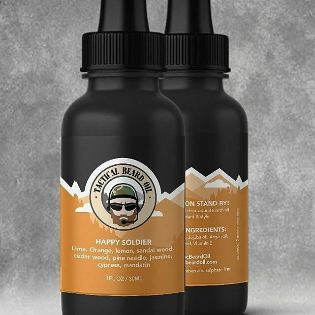 Review: Tactical Beard Oil 'Happy Soldier' Beard Oil