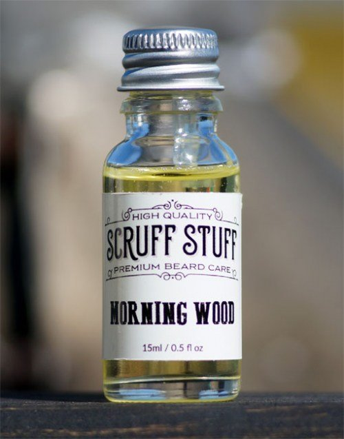 Review: Scruff Stuff 'Morning Wood' Beard Oil