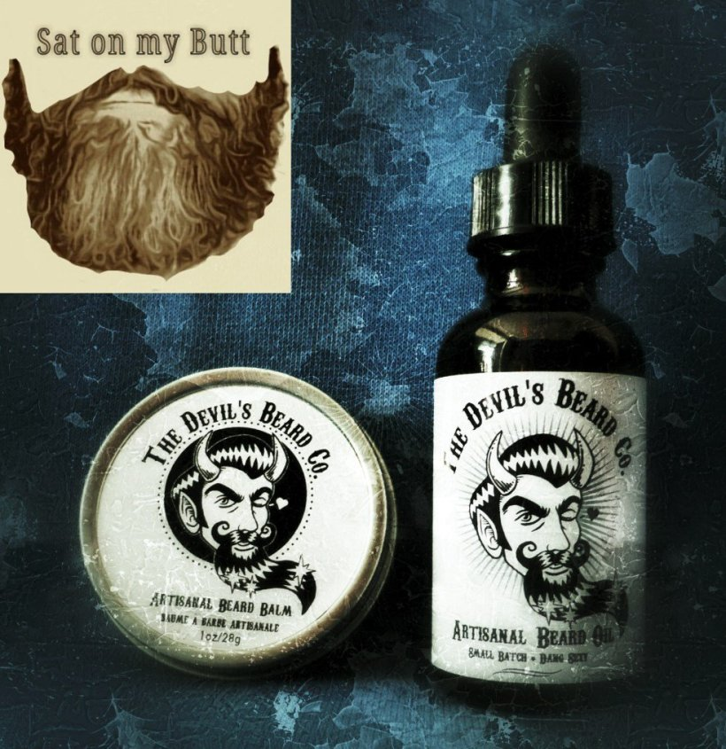 The Devil's Beard Co Artisnal Beard Oil