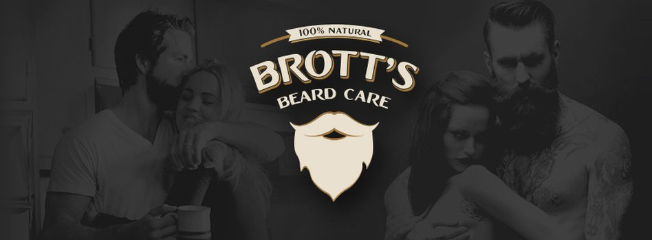 Brott's Beard Care logo