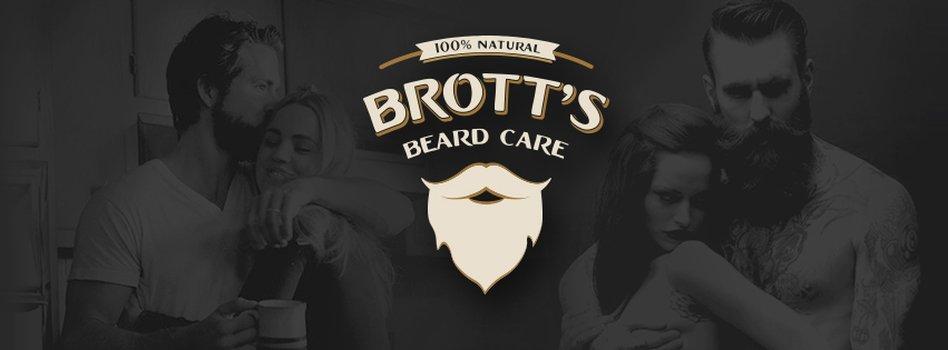 Brott's Beard Care logo