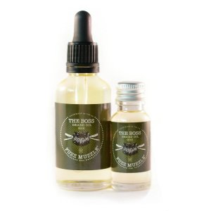 'The Boss' beard Oil from Fuzz Muzzle