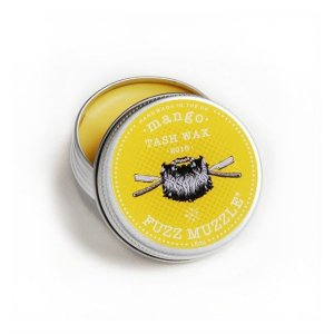 'Mango' Tash Wax from Fuzz Muzzle