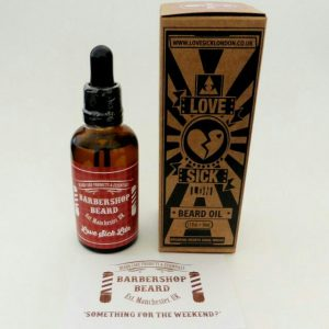 Ltd Edition Barbershop Beard/Love Sick London Beard Oil