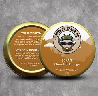 Tactical Beard Care 'Scran' Beard Balm