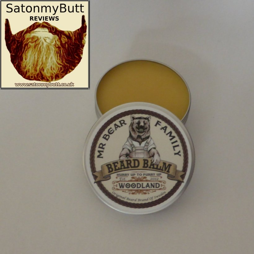 Mr Bear Family 'Woodland' Beard Balm