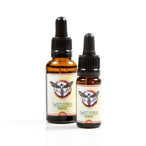Hawkmoth Beard Co 'Sweet Citrus' Beard Oil from Bearded Adonis