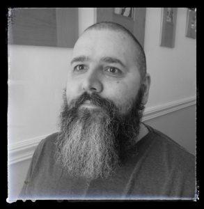 beard with Honest Amish Heavy Duty Beard Balm