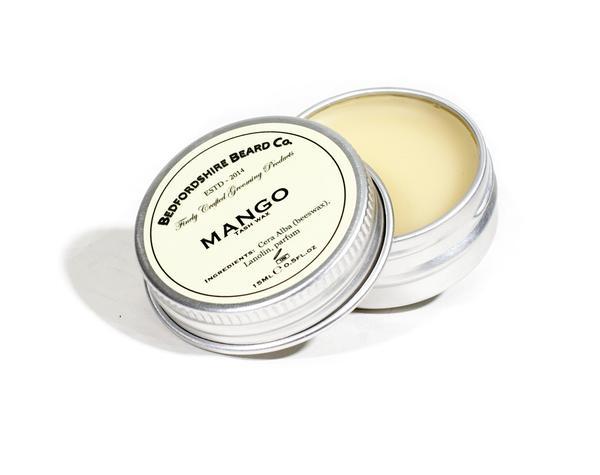 Bedfordshire Beard Co 'Mango' Moustache Wax