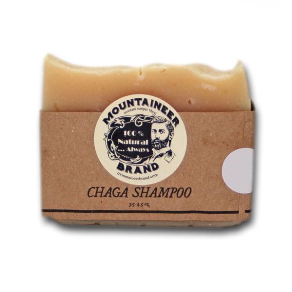 Mountaineer Brand 'Chaga Shampoo' Bar