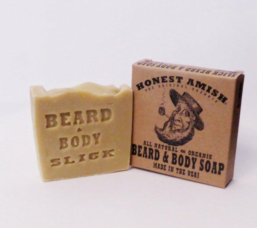 Slick Beard and Body Soap by Honest Amish