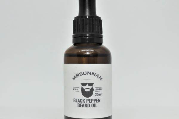 Mr Sunnah 'Black Pepper' Beard Oil