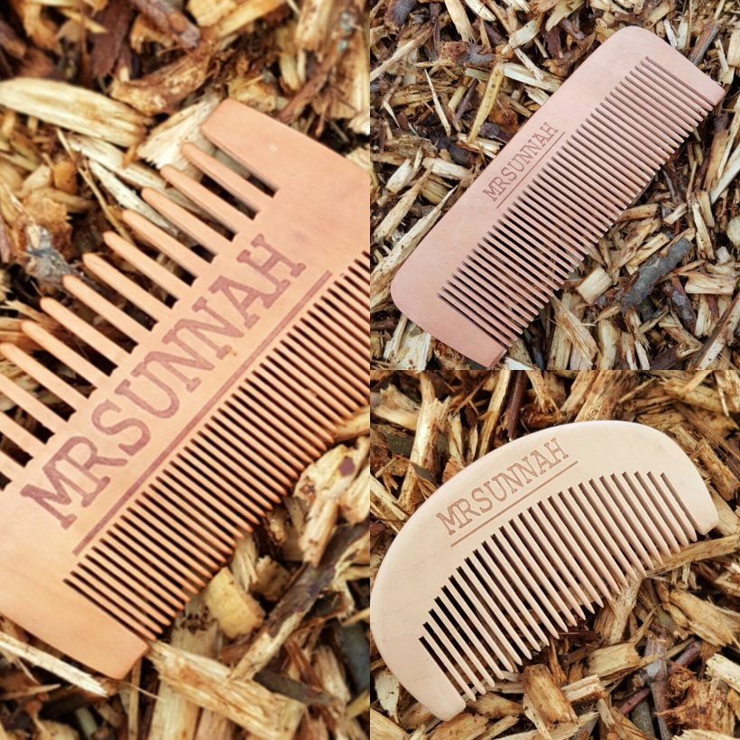 Mr Sunnah Wooden Beard Combs