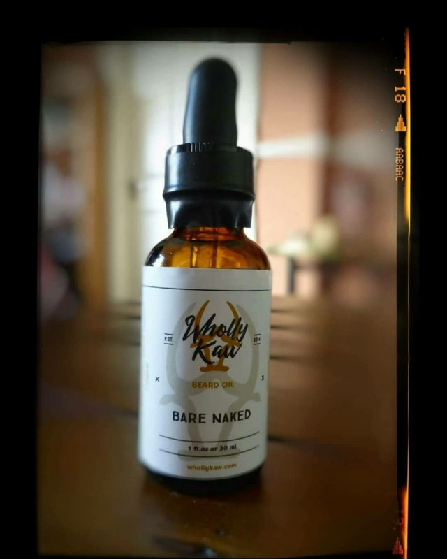 Review: Wholly Kaw 'Bare Naked' Beard Oil