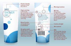 Beard Care labels
