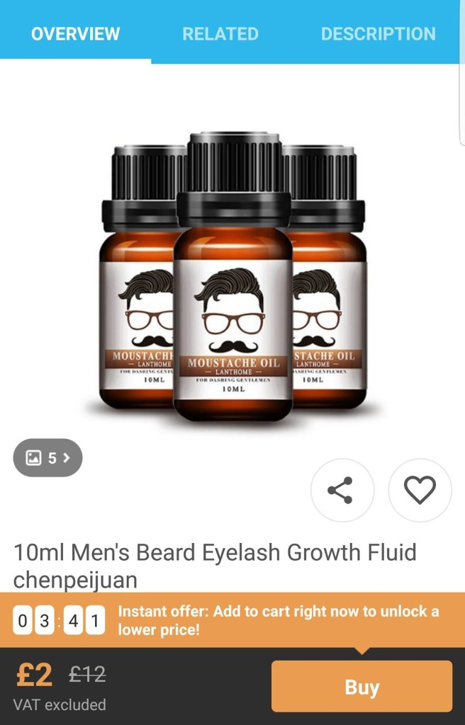 Are you sure that is a genuine Mo Bro's product?