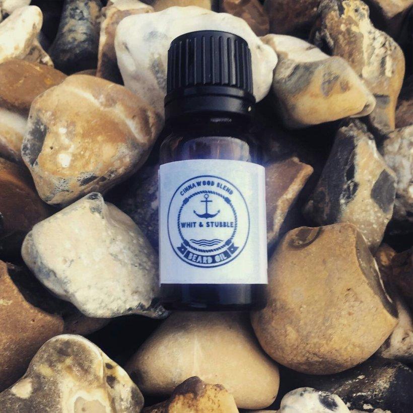 Whit & Stubble 'Cinnawood' Blend Beard Oil