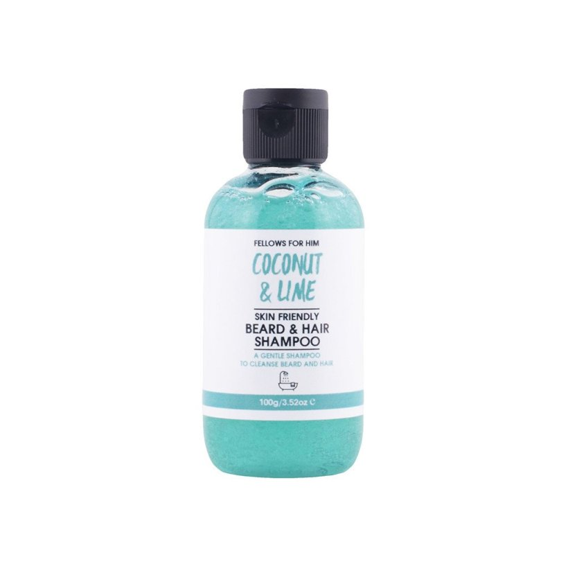 Fellows For Him 'Coconut & Lime' Beard & Hair Shampoo
