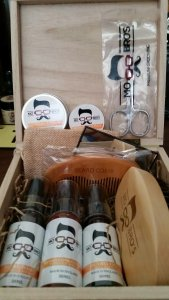 Mo Bro's Personalised Signature Beard Grooming Gift Box