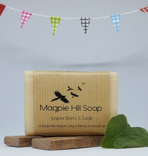 Magpie Hill Soap 'Juniperberry & Sage' Soap