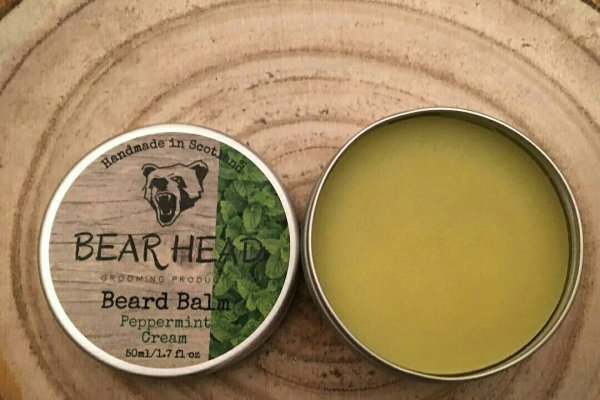 Bear Head 'Peppermint Cream' Beard Balm