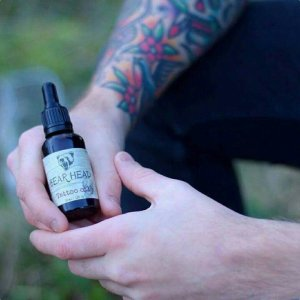 Bear Head Grooming Products Tattoo Oil