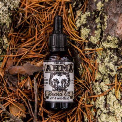 Ahma Beard Products 'Vivid Woodland' Beard Oil
