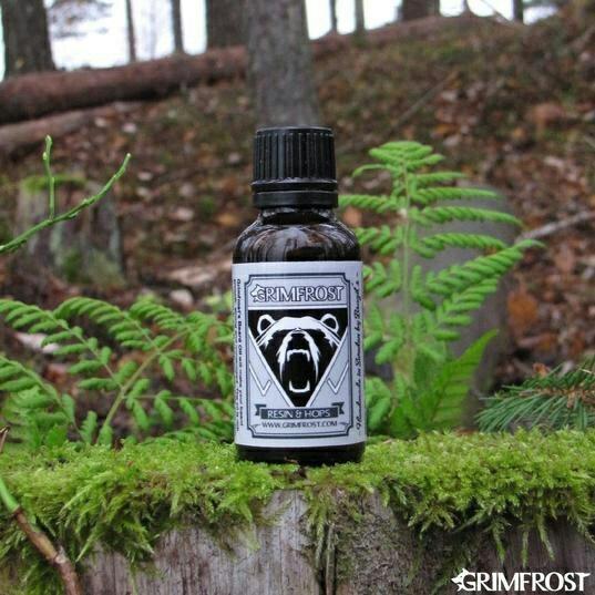 Grimfrost 'Resin & Hops' Beard Oil