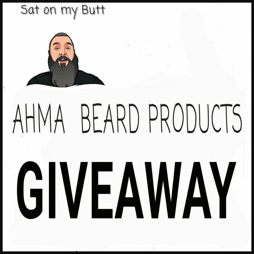 The Ahma Beard Products Giveaway!