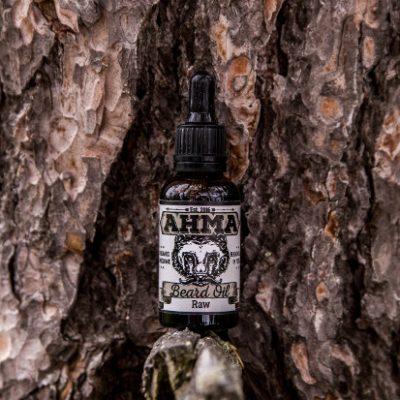 Ahma Beard Products 'Raw' Beard Oil