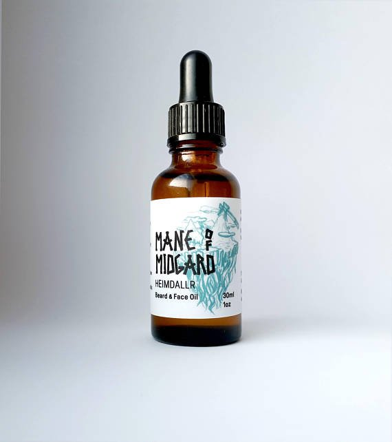 Review of Mane of Midgard Heimdallr Beard Oil