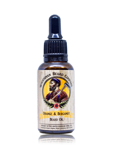 Review of Woodsman Beard Co Orange & Bergamot Beard Oil