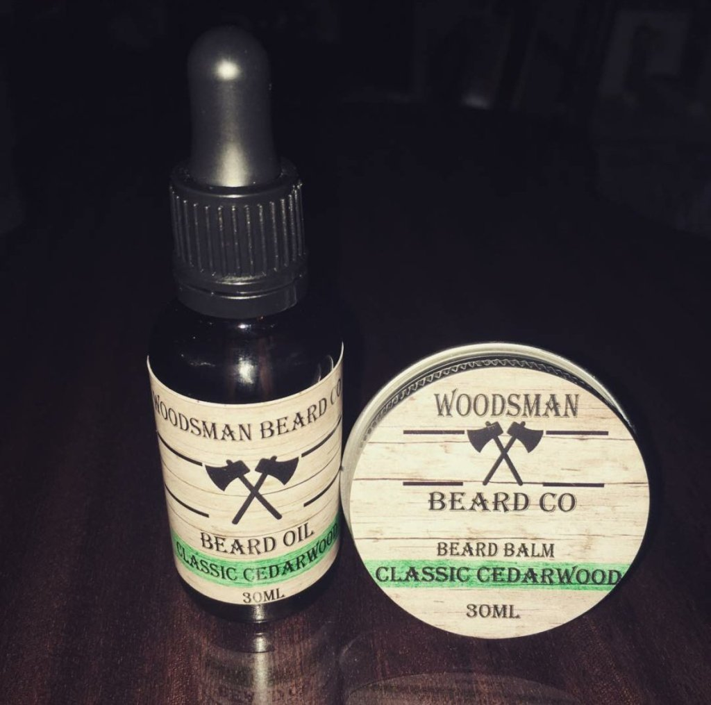 Review of Woodsman Beard Co Classic Cedarwood Beard Oil & Balm