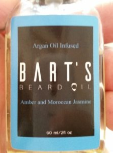 Review of Bart's Amber & Moroccan Jasmine Beard Oil