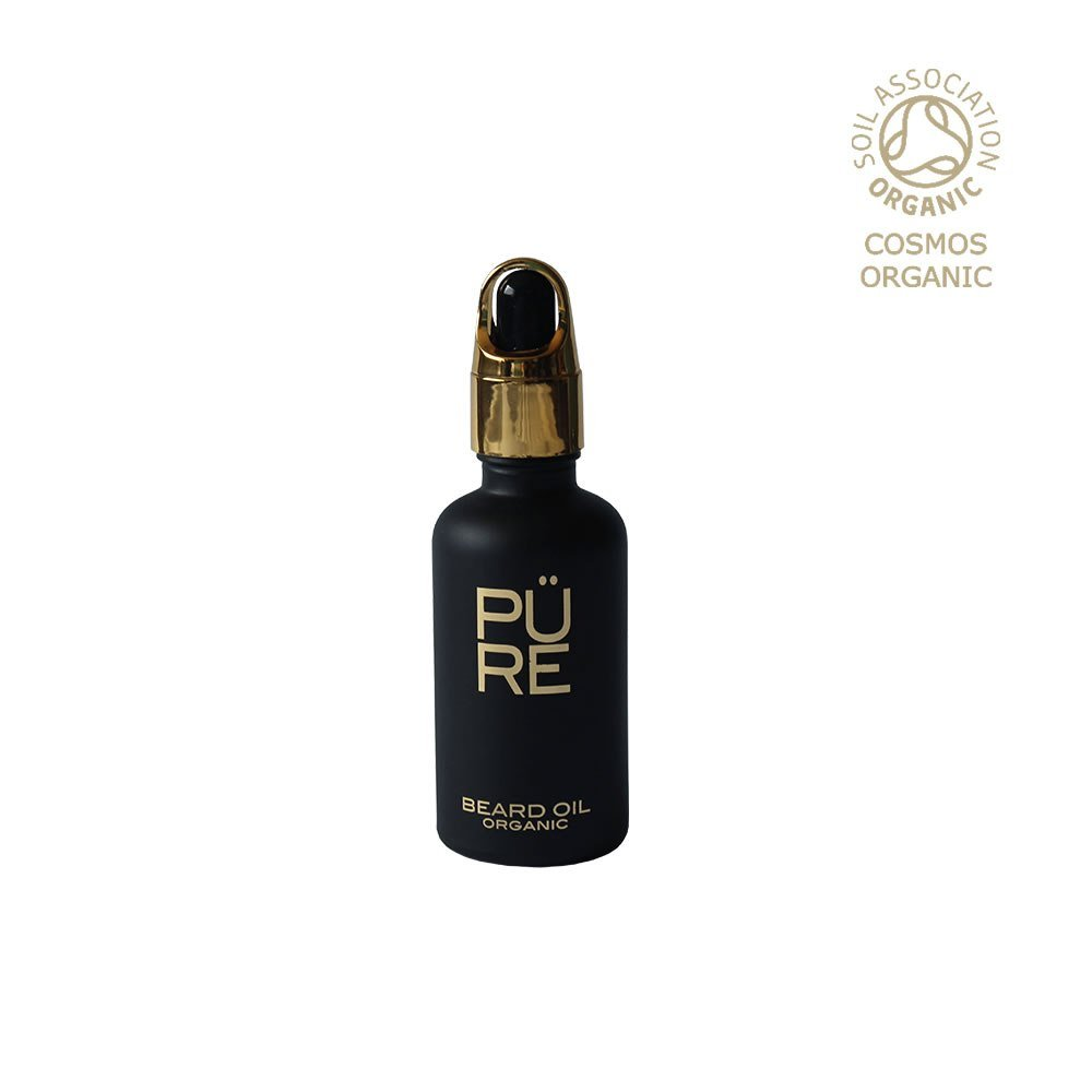 Review The PÜRE Collection Private Blend Beard Oil with Pure Oud