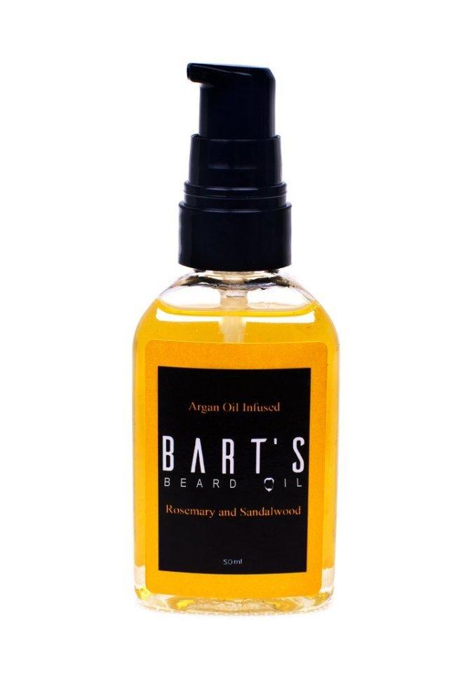 Review of Bart's Rosemary & Sandalwood Beard Oil