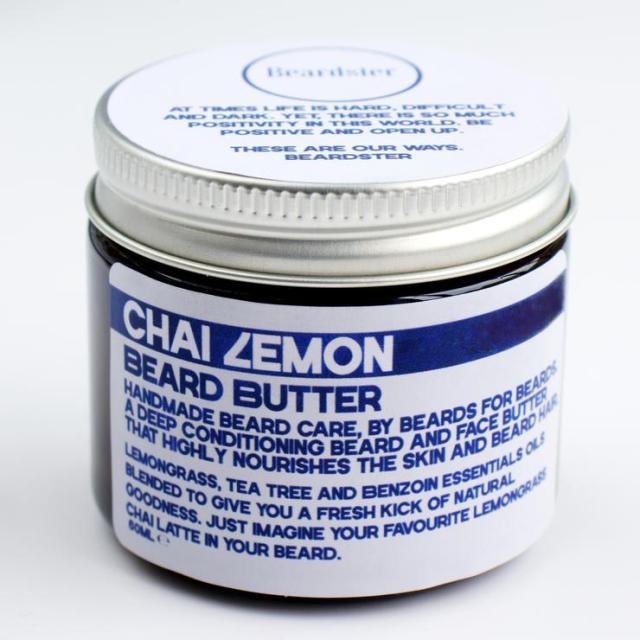 Review of Beardster Chai Lemon Beard Butter