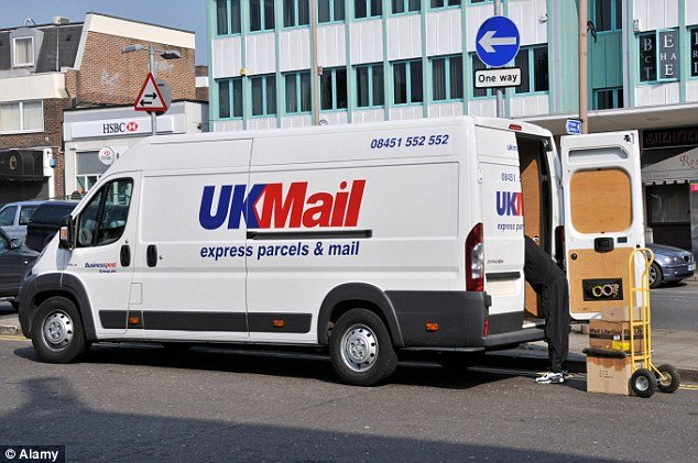 Is the courier UK Mail bad for business?