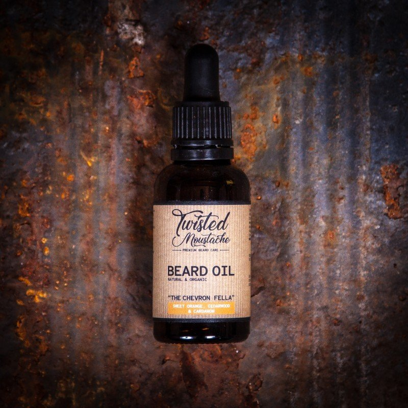 Review of Twisted Moustache The Chevron Fella Beard Oil