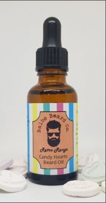 Review of the Balbo Beard Co Candy Hearts Beard Oil