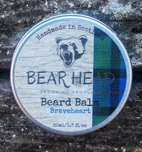 Review of the Bear Head Grooming Braveheart Beard Balm