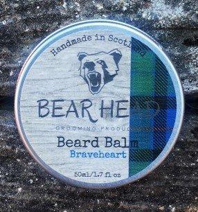 Review of the Bear Head Grooming Braveheart Beard Balm