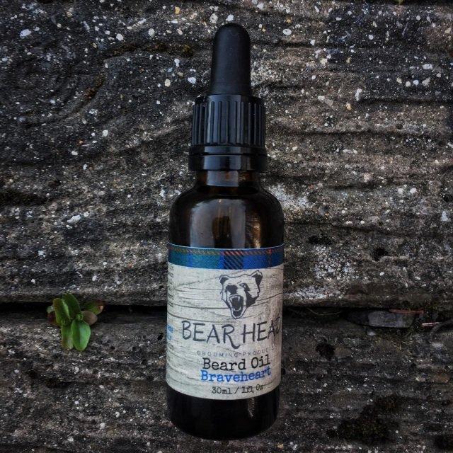 Review of the Bear Head Grooming Braveheart Beard Oil