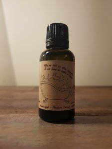 bathtub beard oil