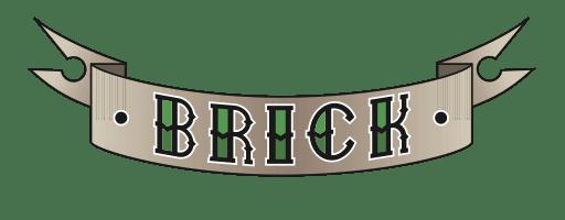 Brick beard care logo